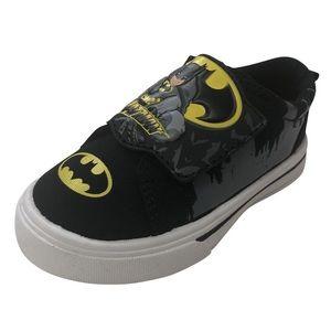 Batman Toddler Boy's Canvas Shoe NEW